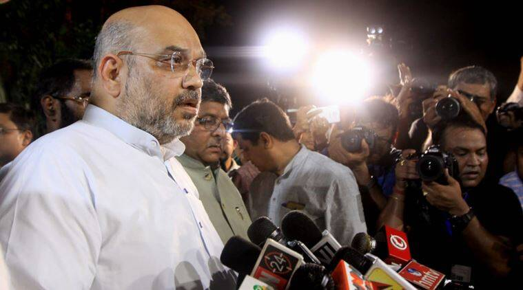 Amit Shah while addressing media said that the country has lost a great leader (Praveen Jain)
