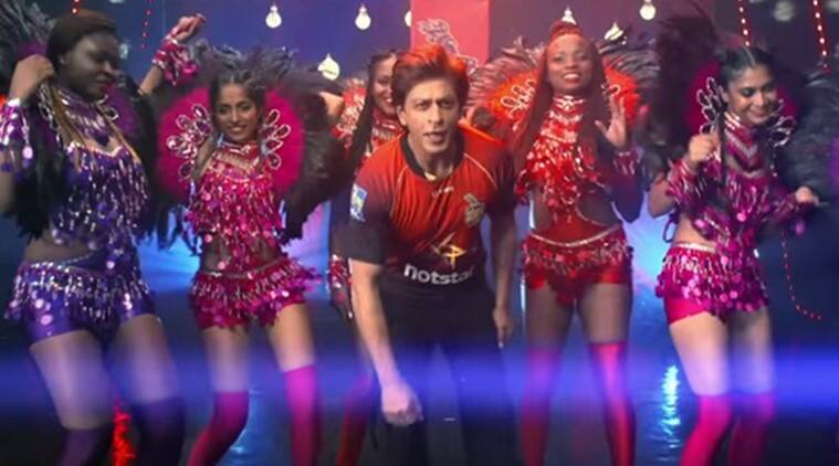 shah rukh khan in DJ Bravo song We Is The Champion