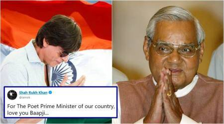 Shah Rukh Khan's heartfelt tribute to 'poet prime minister' Atal Bihari Vajpayee has netizens moved