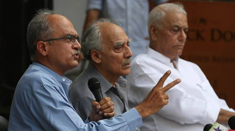 Arun Shourie, Yashwant Sinha attack PM on Rafale deal
