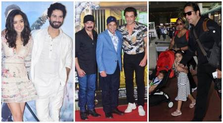 Celeb spotting: Shraddha Kapoor, Bobby Deol, Fardeen Khan and others