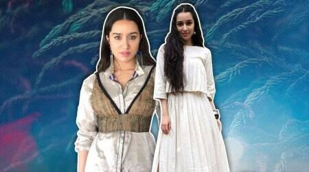 'Stree' promotions: Shraddha Kapoor tries to give gothic vibes in this pyjama suit, but itmisfires