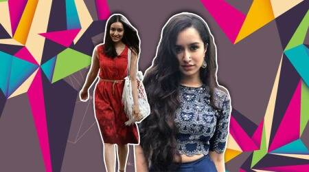'Stree' promotions: Shraddha Kapoor gives boho vibes in this blue skirt and croptop