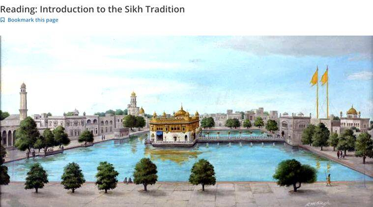 Sikhism Through Its Scriptures, Harvard, Indian Express news