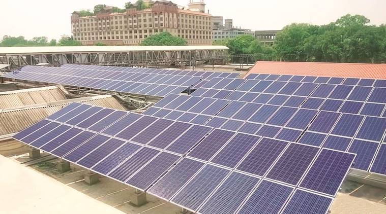 renewable energy in india, solar energy in india, wind energy in india, power sector in india, Power minister, New and Renewable Energy Minister, Raj Kumar Singh, modi government, india news, indian express