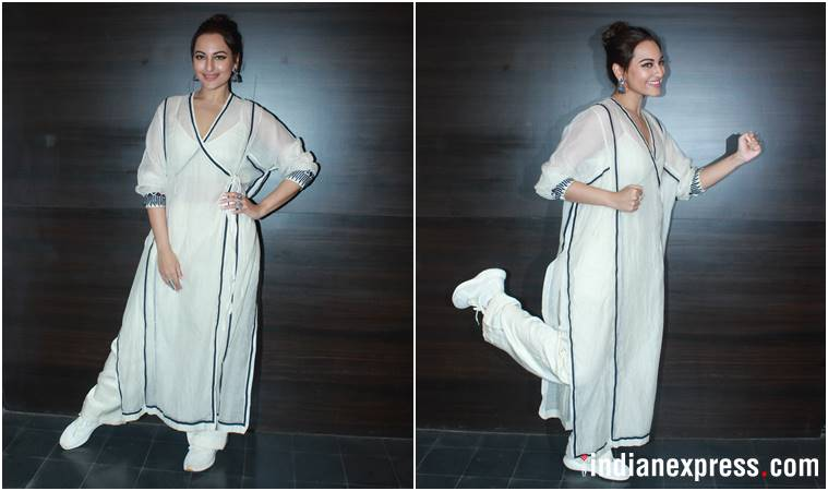 sonakshi sinha, happy firr bhag jayegi, happy firr jayegi promotions, sonakshi sinha happy firr bhag jayegi, sonakshi sinha latest news, sonakshi sinha latest photo, sonakshi sinha updates, celeb fashion, bollywood fashion, indian express, indian express news