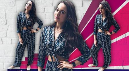 Sonakshi Sinha's co-ords set is monsoon style goals