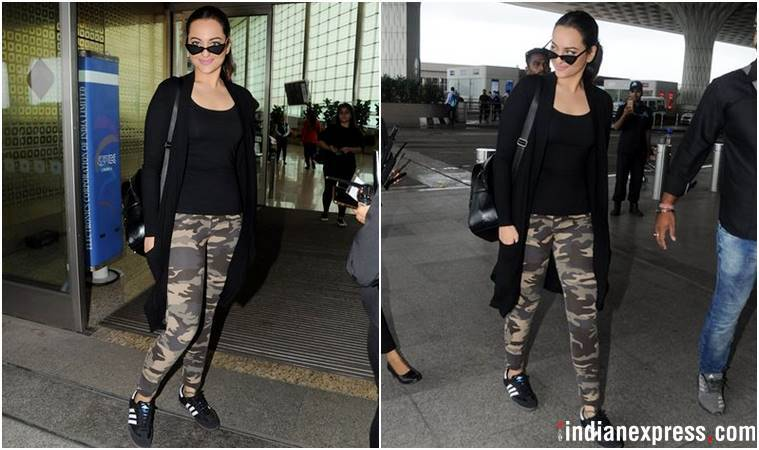 Best airport looks, Best airport looks bollywood, Deepika Padukone, Kareena Kapoor Khan, Kiara Advani, Jacqueline Fernandez, Sonakshi Sinha, Diana Penty, celeb fashion, bollywood fashion, indian express, indian express news