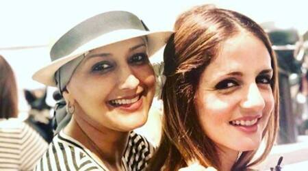 Sussanne Khan pens heartfelt note after visiting Sonali Bendre in New York
