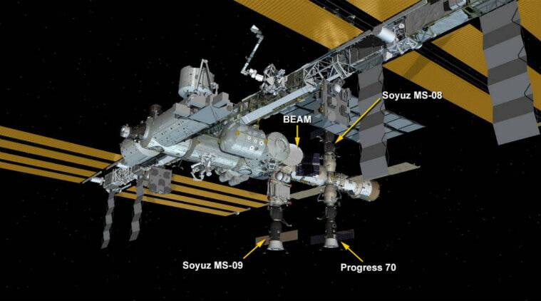 Outer space, Spaceflight, Spacecraft, International Space Station, United States Department of Energy national laboratories, Human spaceflight, Scientific research on the International Space Station, ISS ECLSS, station systems, commander, National Aeronautics
