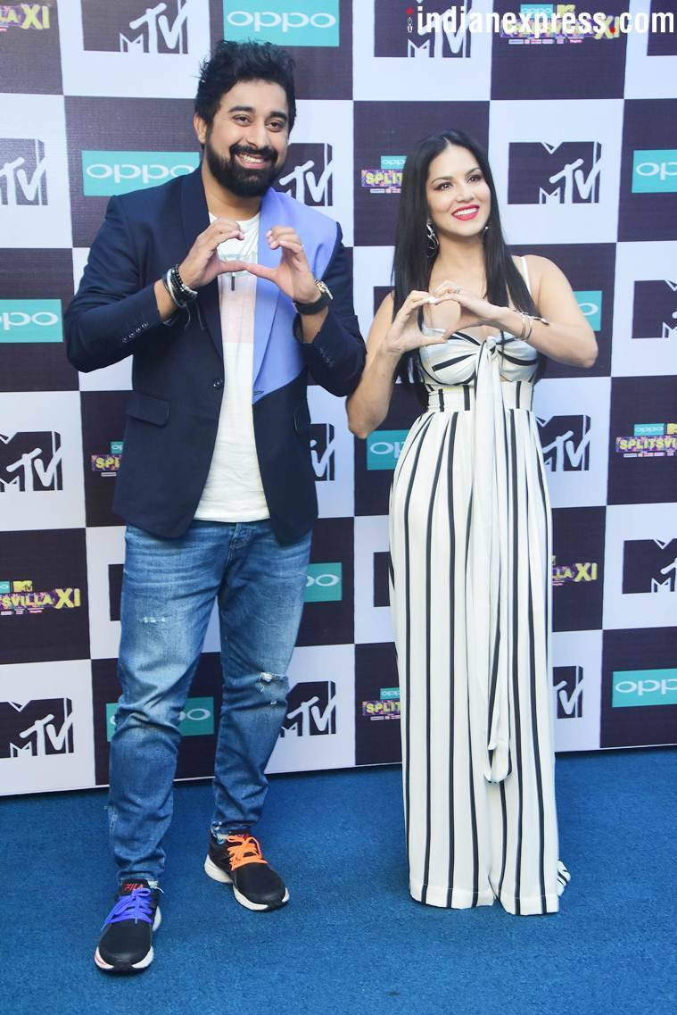 Sunny Leone and Rannvijay Singha promote MTV Splitsvilla 11