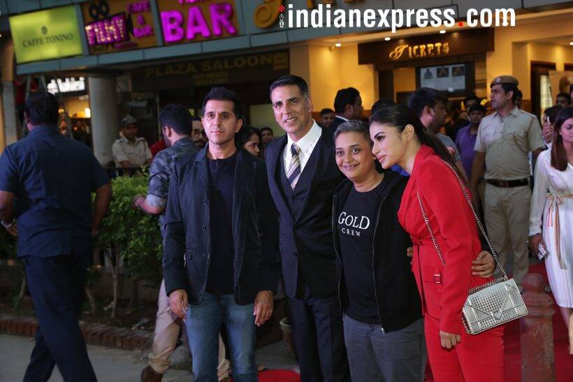 gold cast and crew in delhi to promote gold