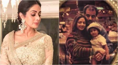 On Sridevi's birth anniversary, Janhvi Kapoor shares a throwback photo