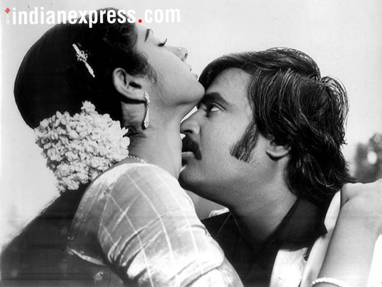 sridevi with rajinikanth