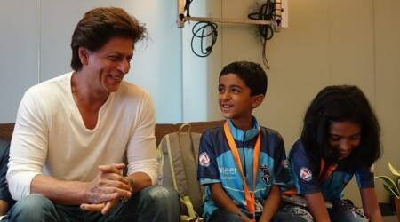 Shah Rukh Khan meets cancer survivors ahead of World Children's Winners Games