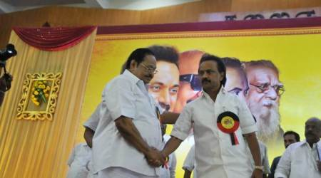 M K Stalin becomes DMK's new chief, party seeks Bharat Ratna for Karunanidhi
