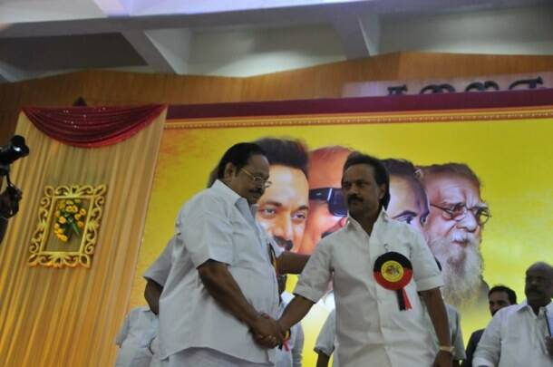 M K Stalin elected DMK president unopposed, Durai Murugan becomes treasurer