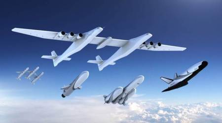 Stratolaunch announces reusable space plane, launch vehicles for satellites