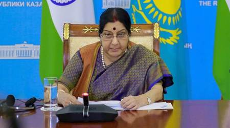 Sushma Swaraj to leave on 4-day trip to Vietnam, Cambodia on Monday
