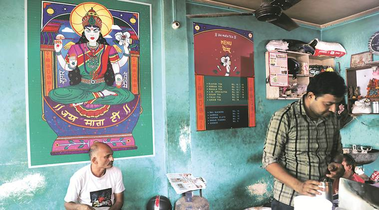 Street Smart — a graphic design project in Delhi honouring India's 71 years of independence