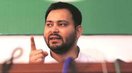 Tejashwi Yadav, Tejashwi Yadav vote, Tejashwi Yadav fails to vote, Tejashwi Yadav RJD, RJD Bihar, Election news, Indian Express, latest news
