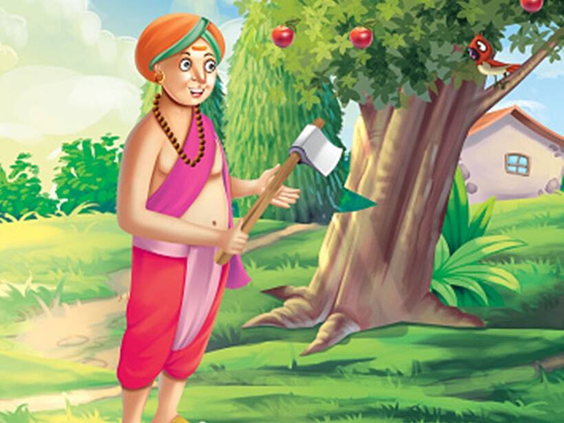 Short Story For Kids: Tenali Rama, The Second