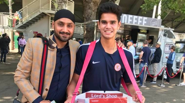 India vs England: Harbhajan Singh helps 'good boy' Arjun Tendulkar selling radios at Lord's