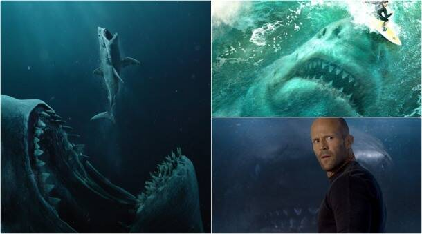 the meg stills featuring jason statham