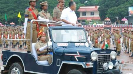 Meet Saseendra, first woman in Kerala to drive CM's vehicle during passing-outparade