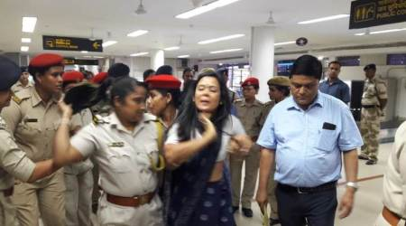 After overnight detention at Silchar airport, TMC leaders return toKolkata