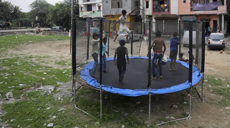 Delhi : Out of school, a boy's bouncy business idea