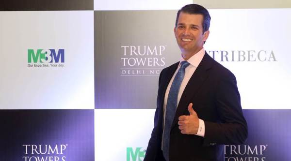 US government spent ,000 to send Donald Trump Jr to India last February