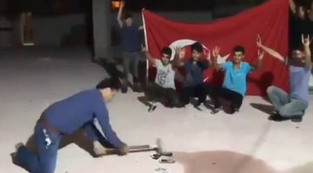 Turks are publicly smashing their iPhones to protest against Trump's steel tariffs