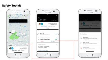 Uber adds safety centre for app in India with share ride, call 100 options
