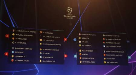 UEFA Champions League Draw: Manchester United land Juventus, Barcelona in group ofdeath