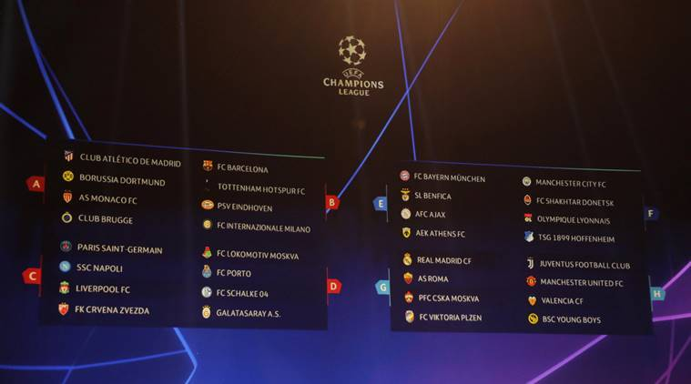 champions league draw, champions league group stage draw, ucl draw, ucl group stage draw, football, ucl draw streaming, football news