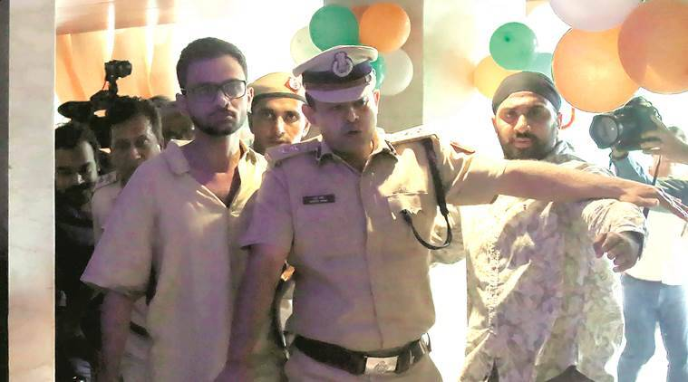 Two months ago Umar Khalid wrote to police: 'Danger to my life, am on hit list'