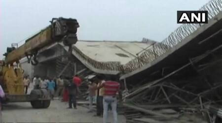 UP: Nearly four injured, two trapped after part of under-construction bridge collapses inBasti