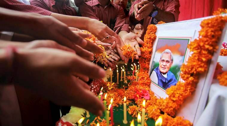 WATCH LIVE Streaming: Atal Bihari Vajpayee funeral at Smriti Sthal