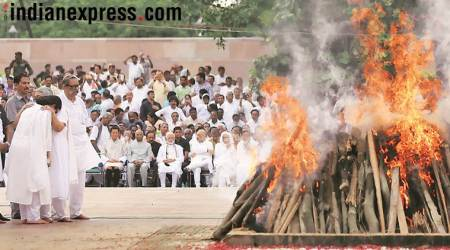 Farewell to Atal Bihari Vajpayee: Final journey ends at Smriti Sthal, SAARC leaders attend funeral