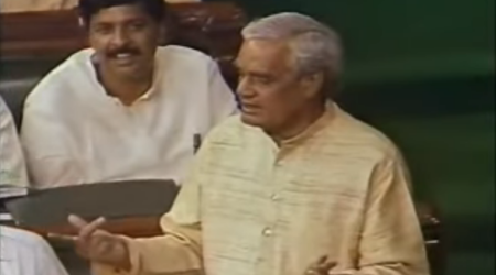 Watch: Atal Bihari Vajpayee's epic 1996 speech in Lok Sabha against a no confidence motion