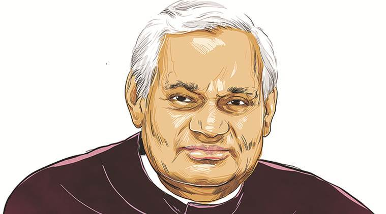Our last respect to Atal Bihari Vajpayee, a giant politician with exceptional oratory skills and a dedicated swayamsevak, who ruled over the hearts of countless Indians.