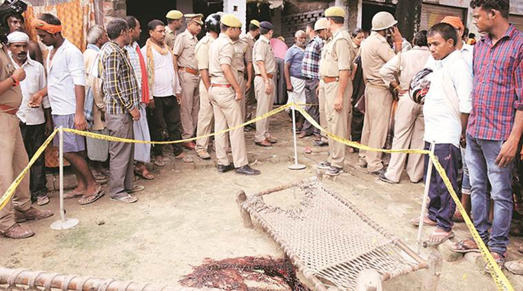 Man, son killed in blast in Varanasi village, cops suspect bomb was planted under their cots