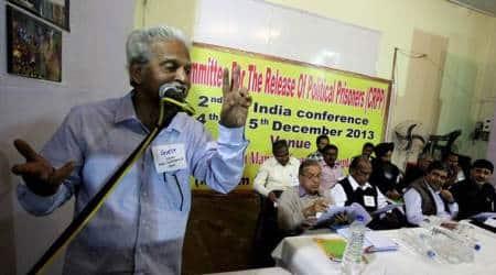 Varavara Rao, Varavara Rao coronavirus, Varavara Rao COVID, Varavara Rao bail plea, Elgaar Parishad case, Bombay High Court, Mumbai news, city news, Indian Express