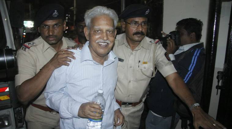 Varavara Rao, Taloja jail, mumbai news, Maharashtra news, Indian express news