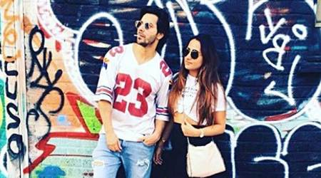 Varun Dhawan and Natasha Dalal look like a perfect match in these photos