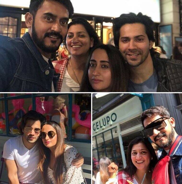 varun dhawan london photos