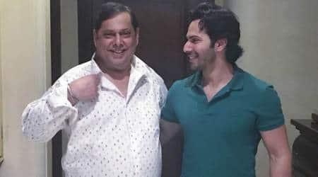 Varun Dhawan puts Sui Dhaaga skills to use for father DavidDhawan