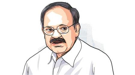No new date has been scheduled for the release of the book on Vice-President Venkaiah Naidu's first year in office.