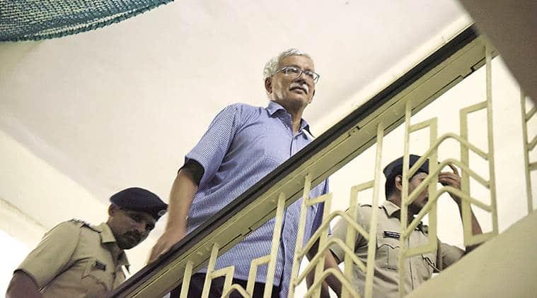 Jailed activist, Vernon Gonsalves, wife writes to top cop, police visit, Mumbai news, Indian express news